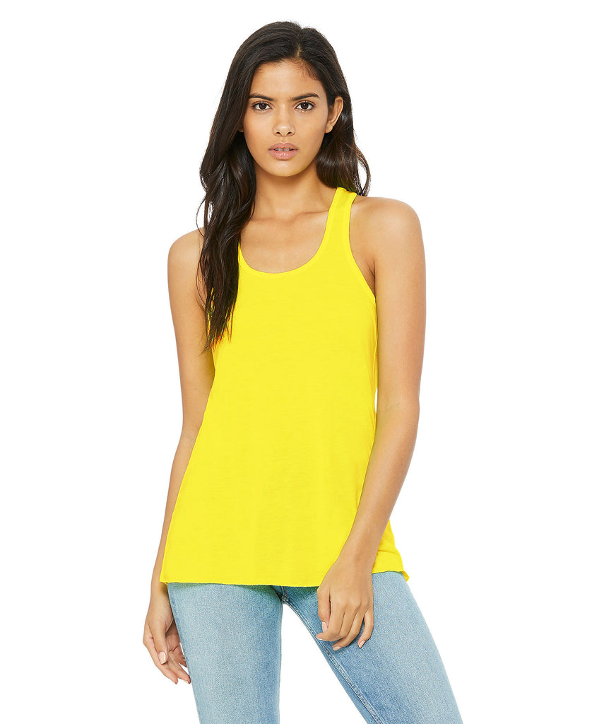 BELLA CANVAS Women's Flowy Racerback Tank B8800 - guyos apparel.com