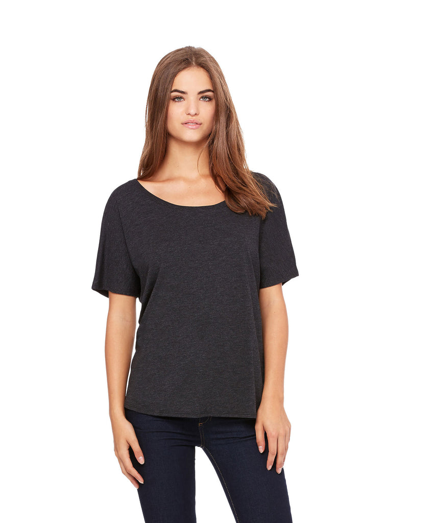BELLA CANVAS Women's Slouchy Tee B8816 - guyos apparel.com