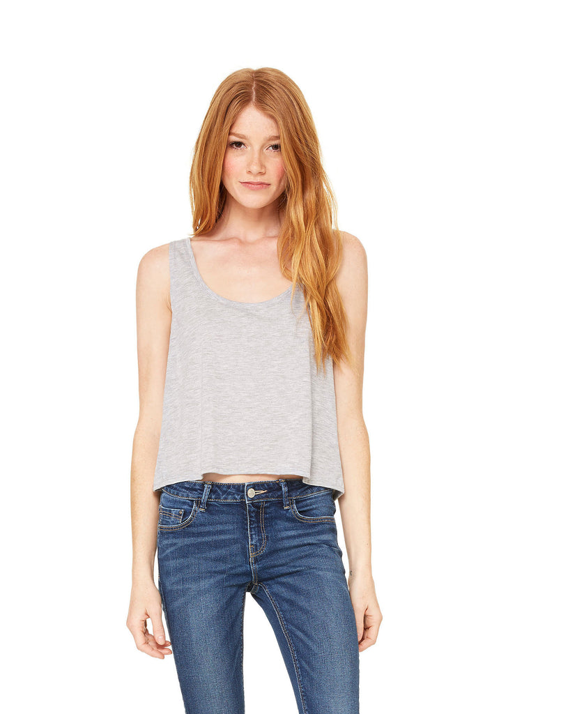 BELLA CANVAS Women's Flowy Boxy Tank B8880 - guyos apparel.com