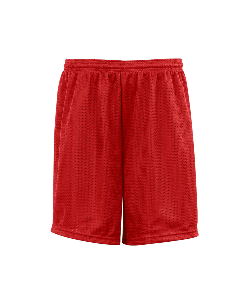 "Badger Youth Mesh/Tricot 6"" Short BG2207 - guyos apparel.com"
