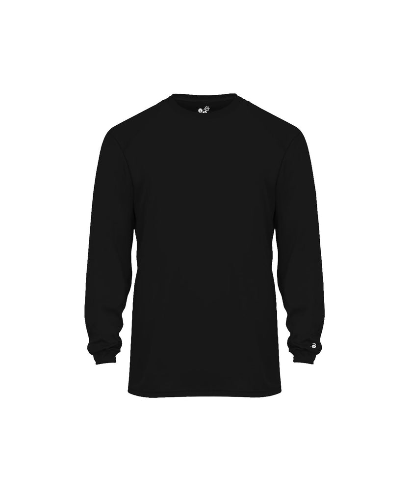 Badger Adult Ultimate SoftLock Long Sleeve Tee BG4004 - guyos apparel.com
