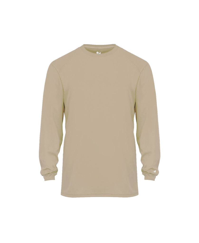 Badger Adult B-Core Long Sleeve Tee BG4104 - guyos apparel.com