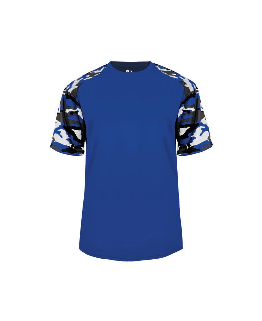 Badger Adult Camo Sport Tee BG4141 - guyos apparel.com
