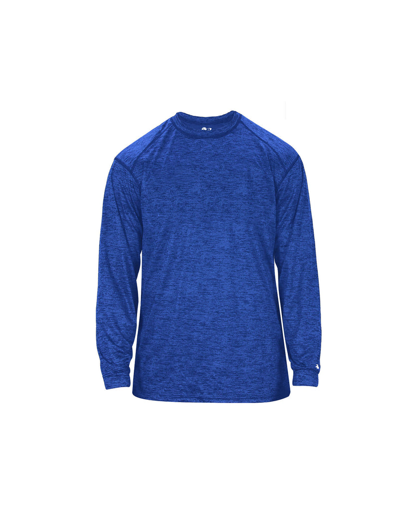 Badger Adult Tonal Blend Long Sleeve Tee BG4174 - guyos apparel.com