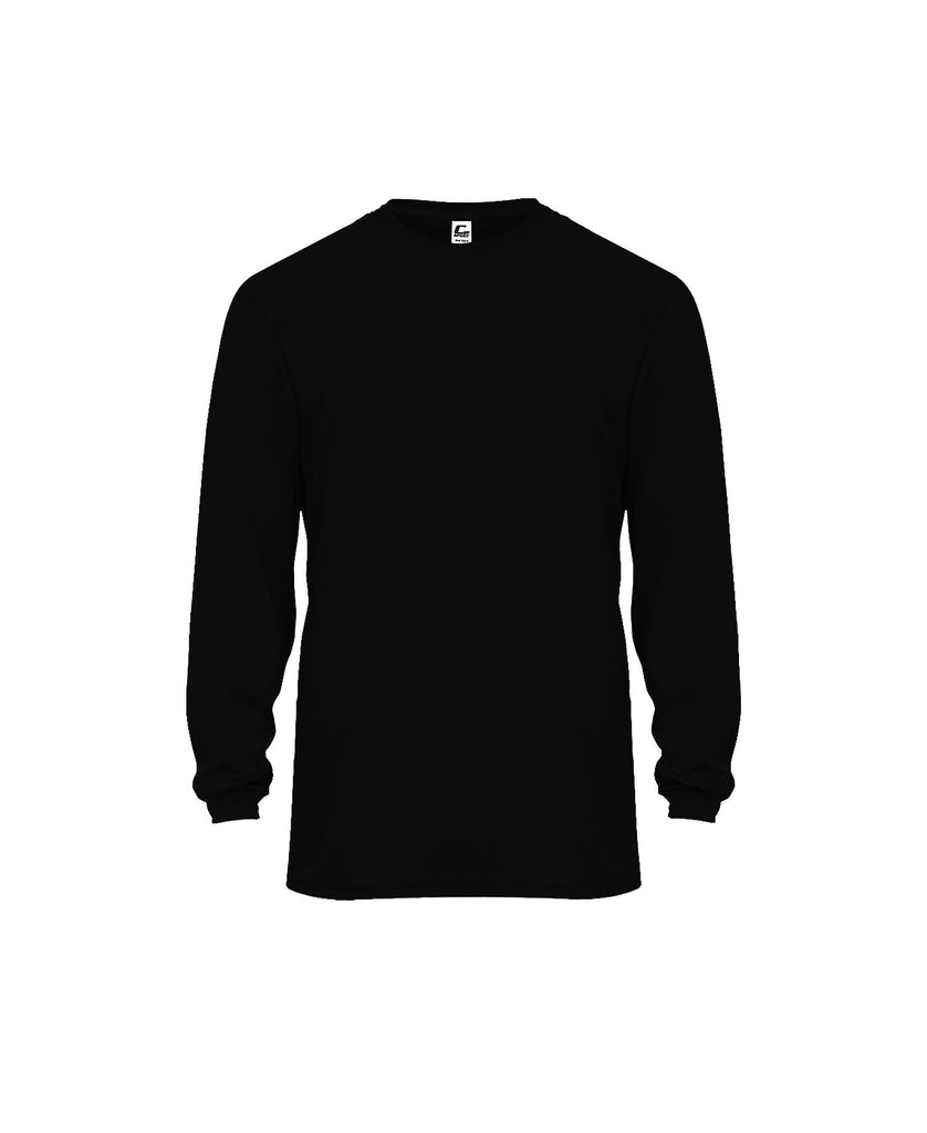 C2 Adult Performance Long Sleeve Adult Tee BG5104 - guyos apparel.com