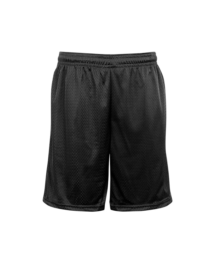 "Badger Adult Mesh Pocketed 9"" Short BG7219 - guyos apparel.com"
