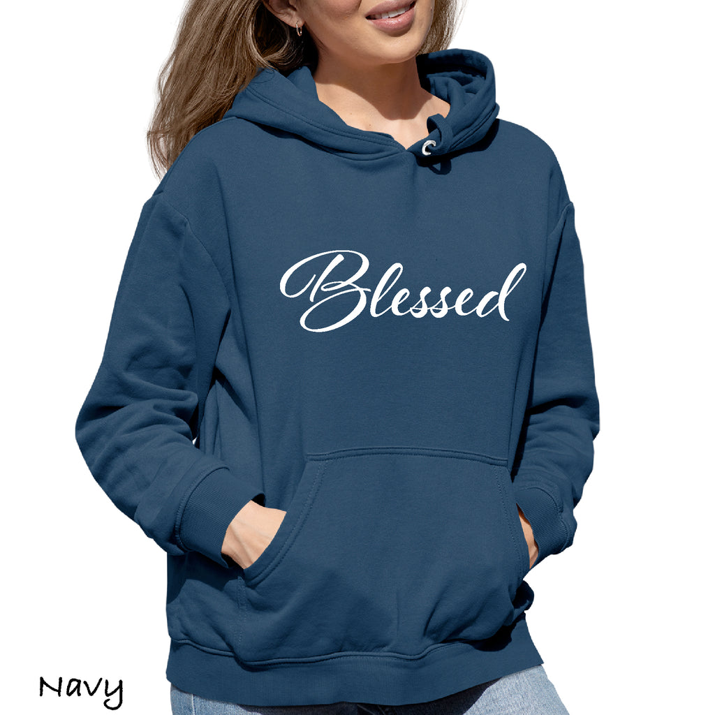 Woman's Hoodie BLESSED  Great Gift Mom Mother Nana Hooded Sweatshirt