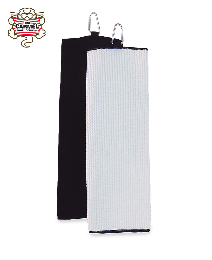 Carmel Towels Fairway Trifold Golf Towel C1717 - guyos apparel.com