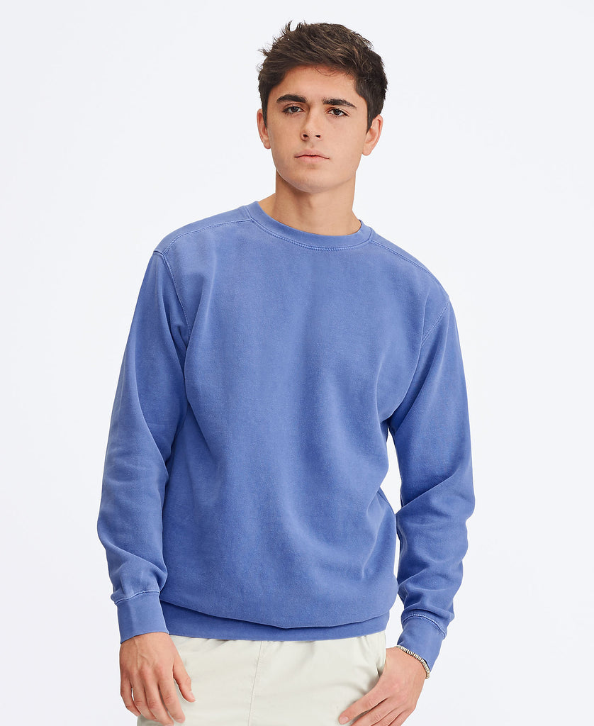 Comfort Colors Adult Crewneck Sweatshirt CC1566 - guyos apparel.com
