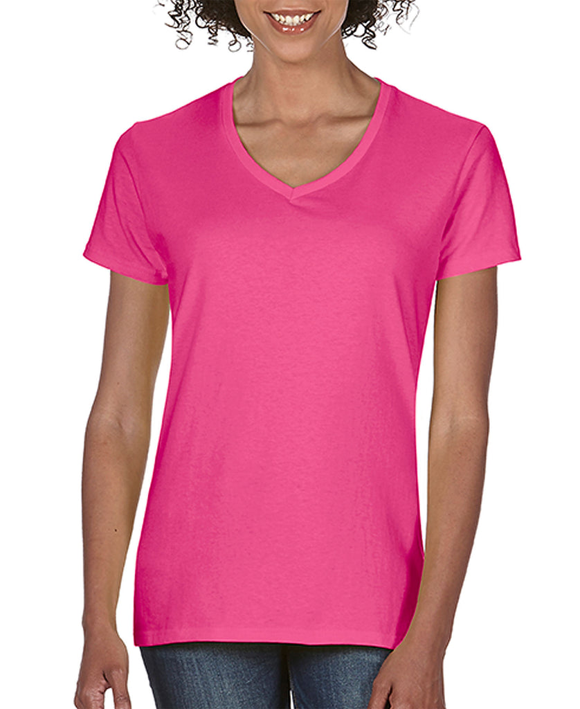 Comfort Colors Ladies Midweight Ring Spun V-Neck Tee CC3199 - guyos apparel.com