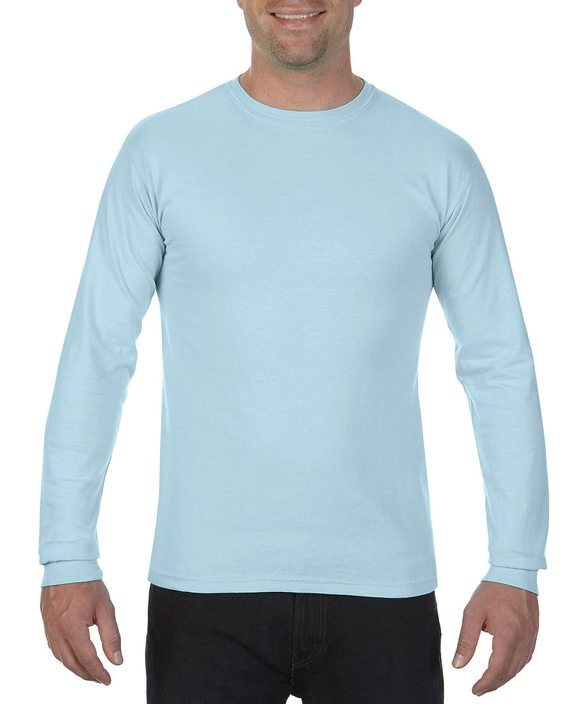 Comfort Colors Adult Heavyweight Ring Spun Long Sleeve Tee CC6014 - guyos apparel.com