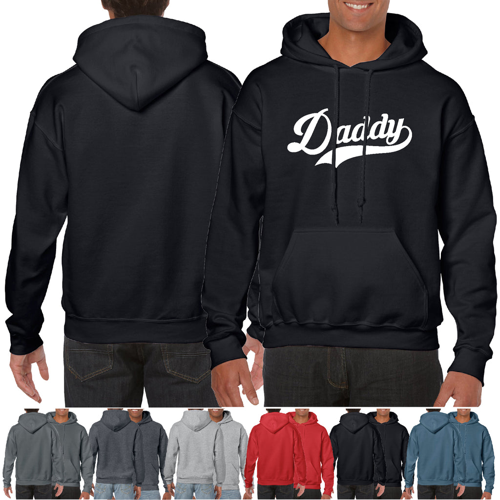 Daddy Hoodie Funny Sports Fan fathers day Gift Hooded Sweatshirt