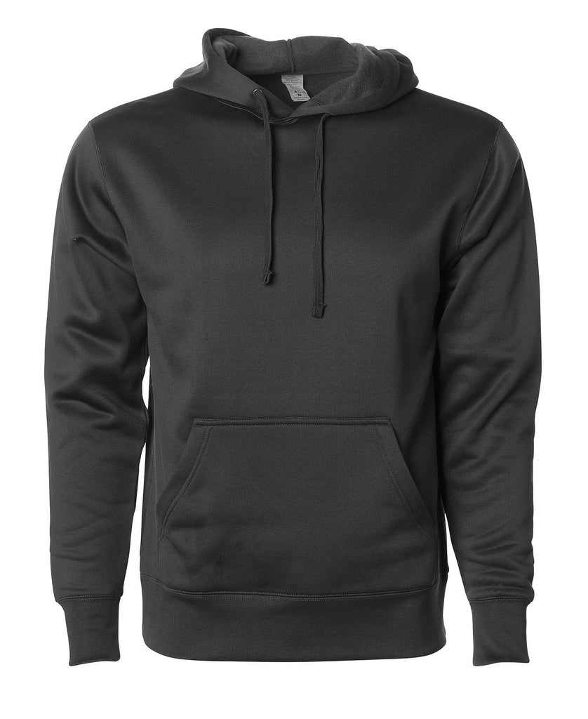 Independent Adult Heavyweight Poly-Tech Pullover Hooded Fleece EXP444PP - guyos apparel.com