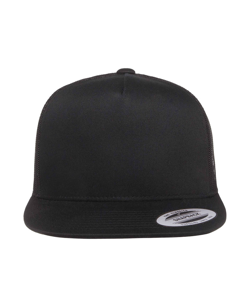 Flexfit Yupoong 5 Panel Trucker Cap FF6006