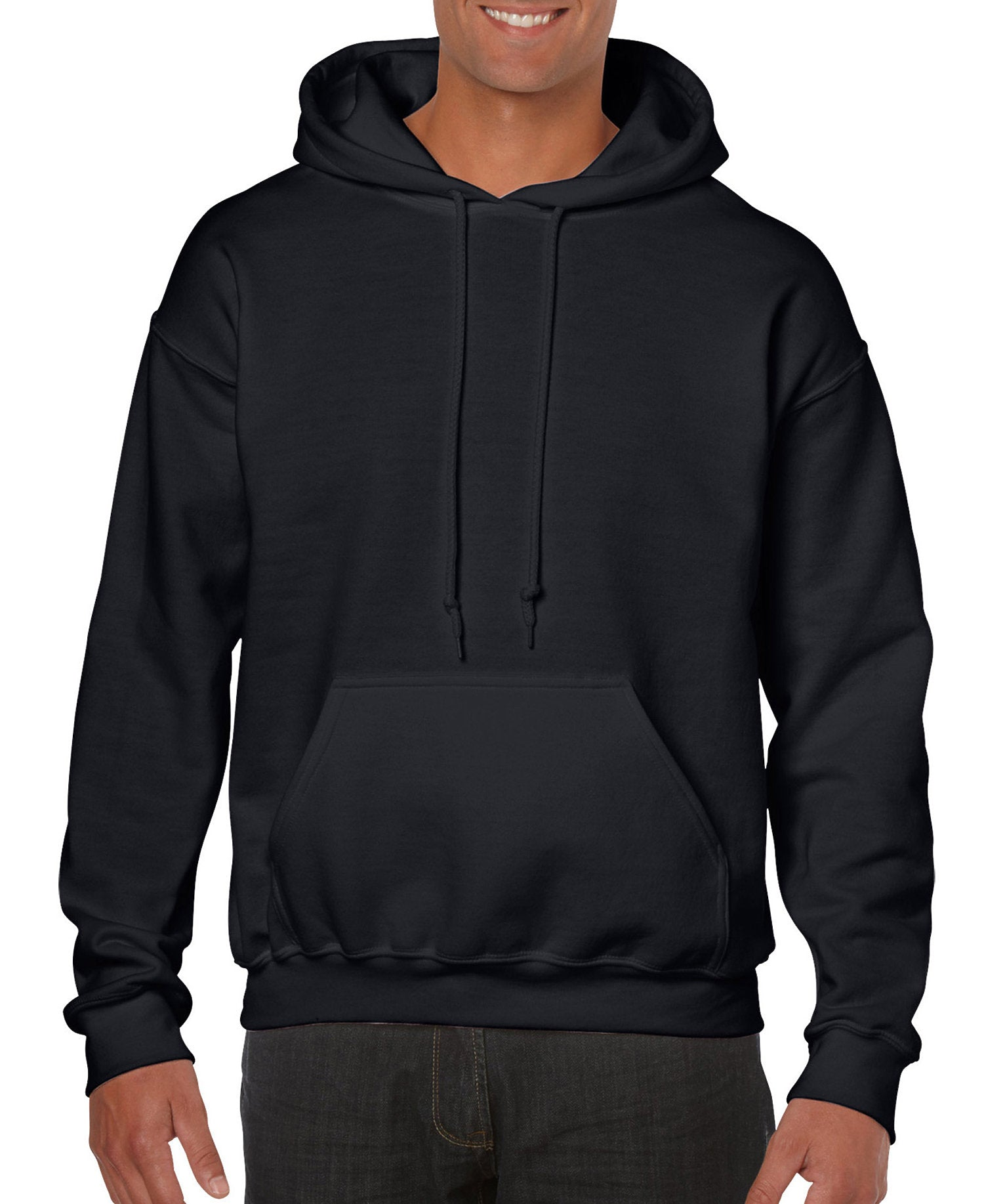 Gildan G18500 Heavy Blend Adult Hooded Sweatshirt M 1 Charcoal 1 Dark Heather