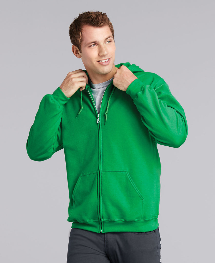 Gildan Heavy Blend Adult Full Zip Hooded Sweatshirt G18600 - guyos apparel.com