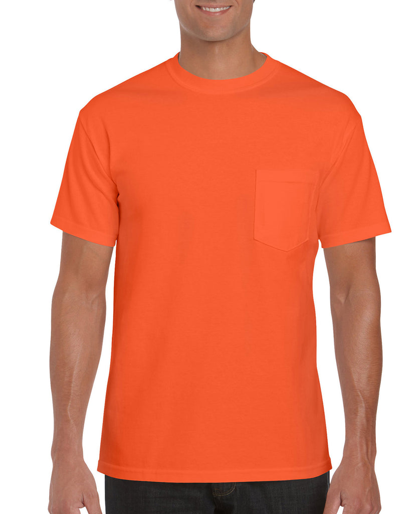 Gildan Ultra Cotton Adult Tee with Pocket G2300 - guyos apparel.com