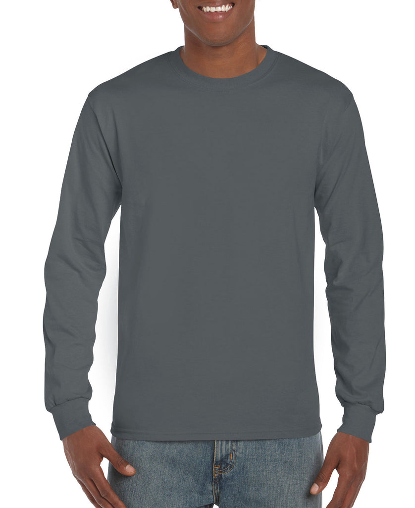 Gildan Ultra Cotton Adult Long Sleeve Tee G2400 - guyos apparel.com