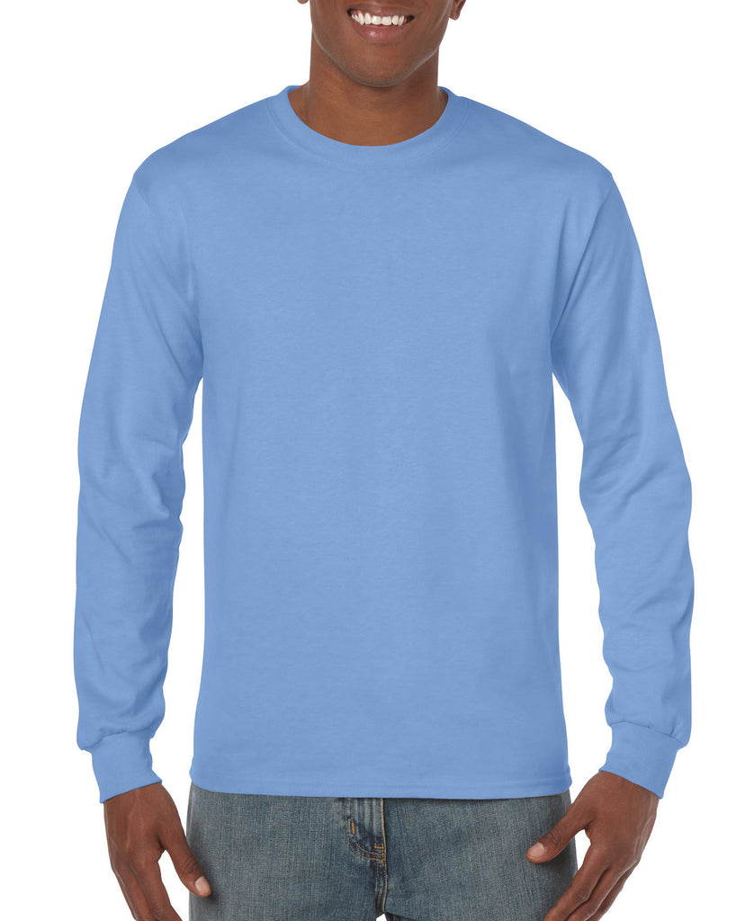 Gildan Heavy Cotton Adult Long Sleeve Tee G5400 - guyos apparel.com