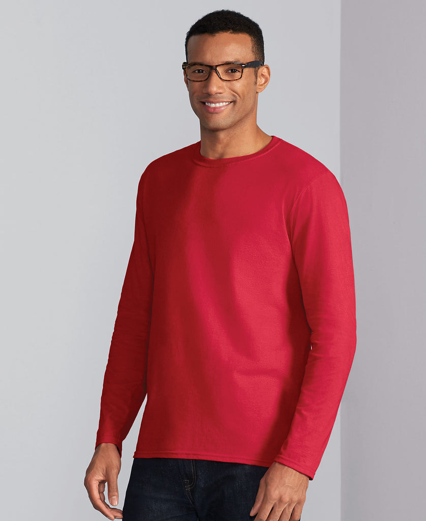 Gildan Softstyle Adult Long Sleeve Tee G64400 - guyos apparel.com