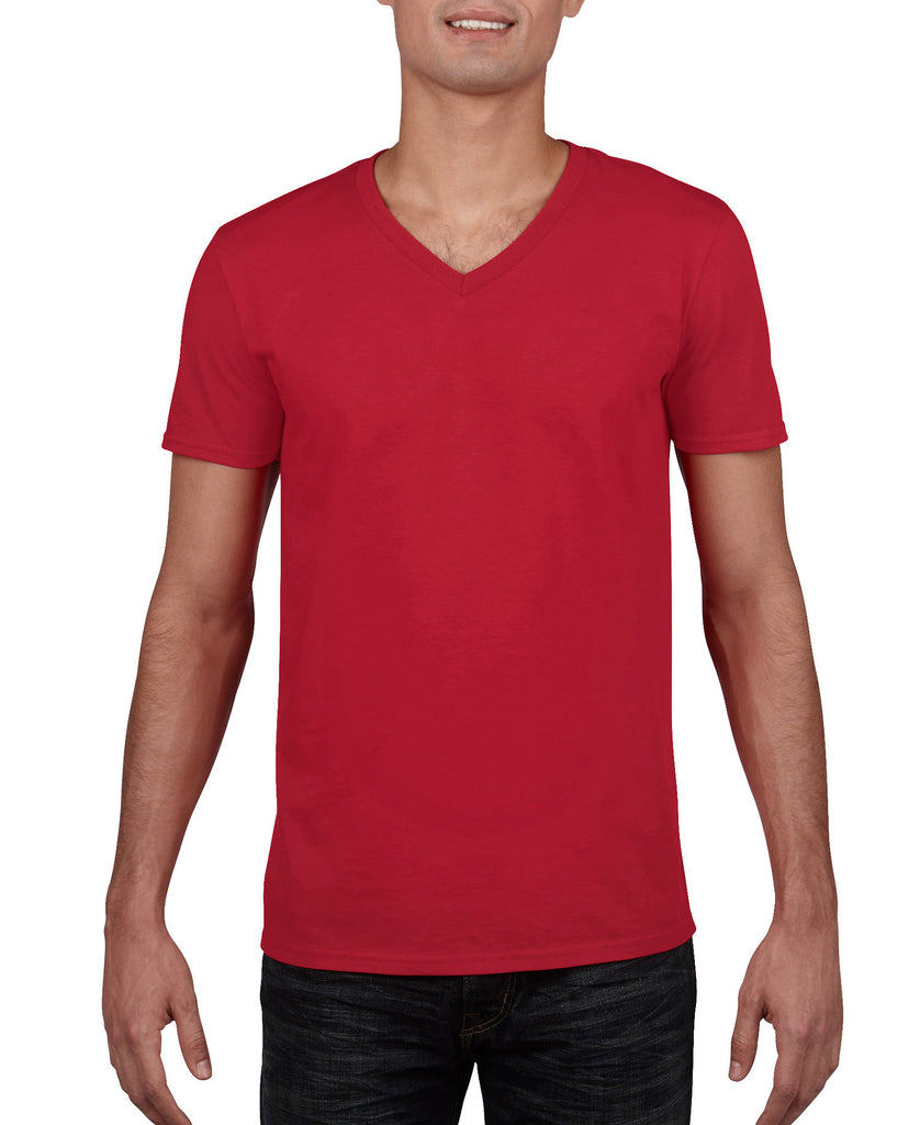 Gildan Softstyle Adult V-Neck Tee G64V00 - guyos apparel.com
