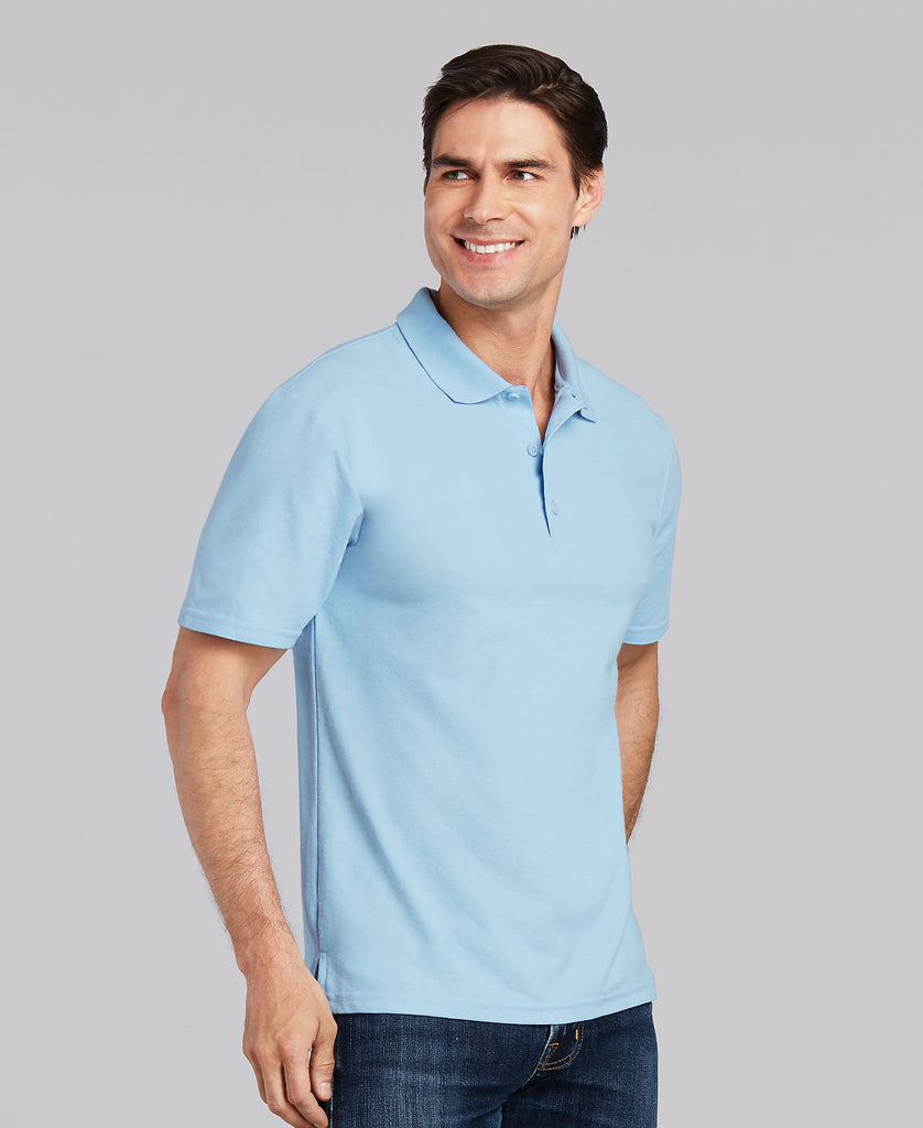 Gildan DryBlend Adult Double Pique Sport Shirt G72800 - guyos apparel.com