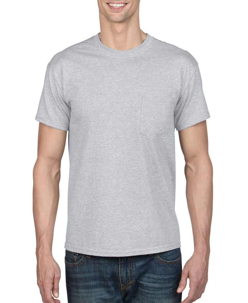 Gildan DryBlend Adult Tee with Pocket G8300 - guyos apparel.com