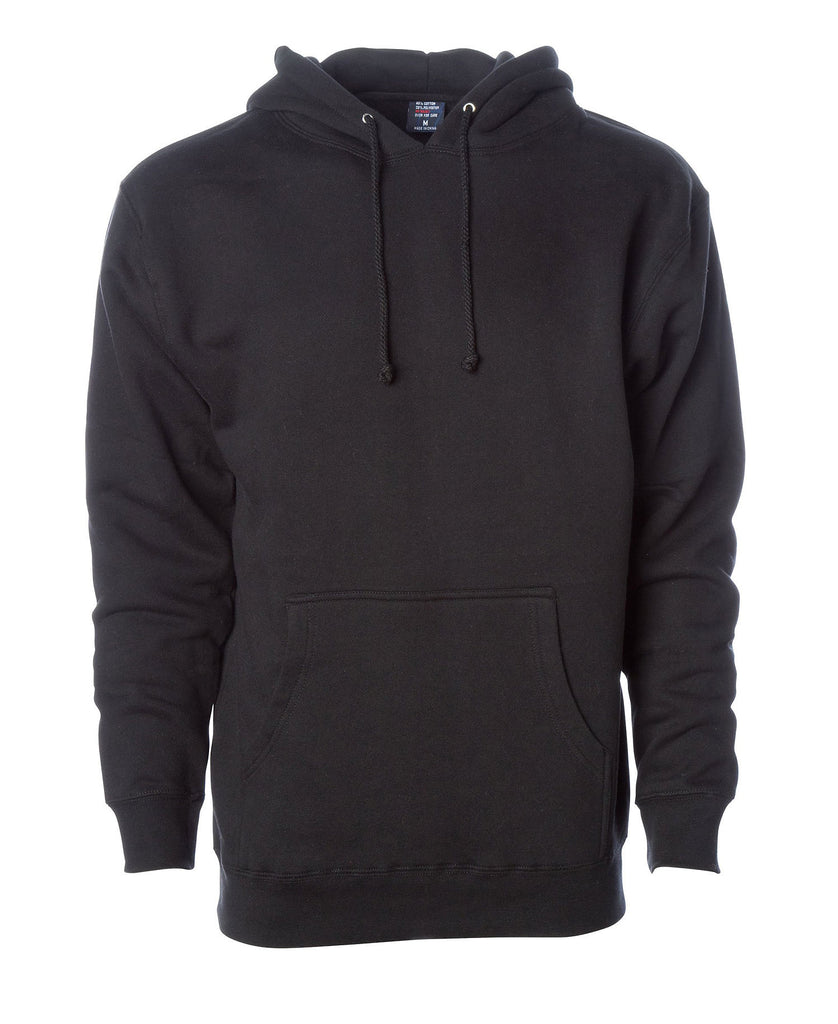 Independent Adult Heavyweight Pullover Hooded Fleece IND400 - guyos apparel.com