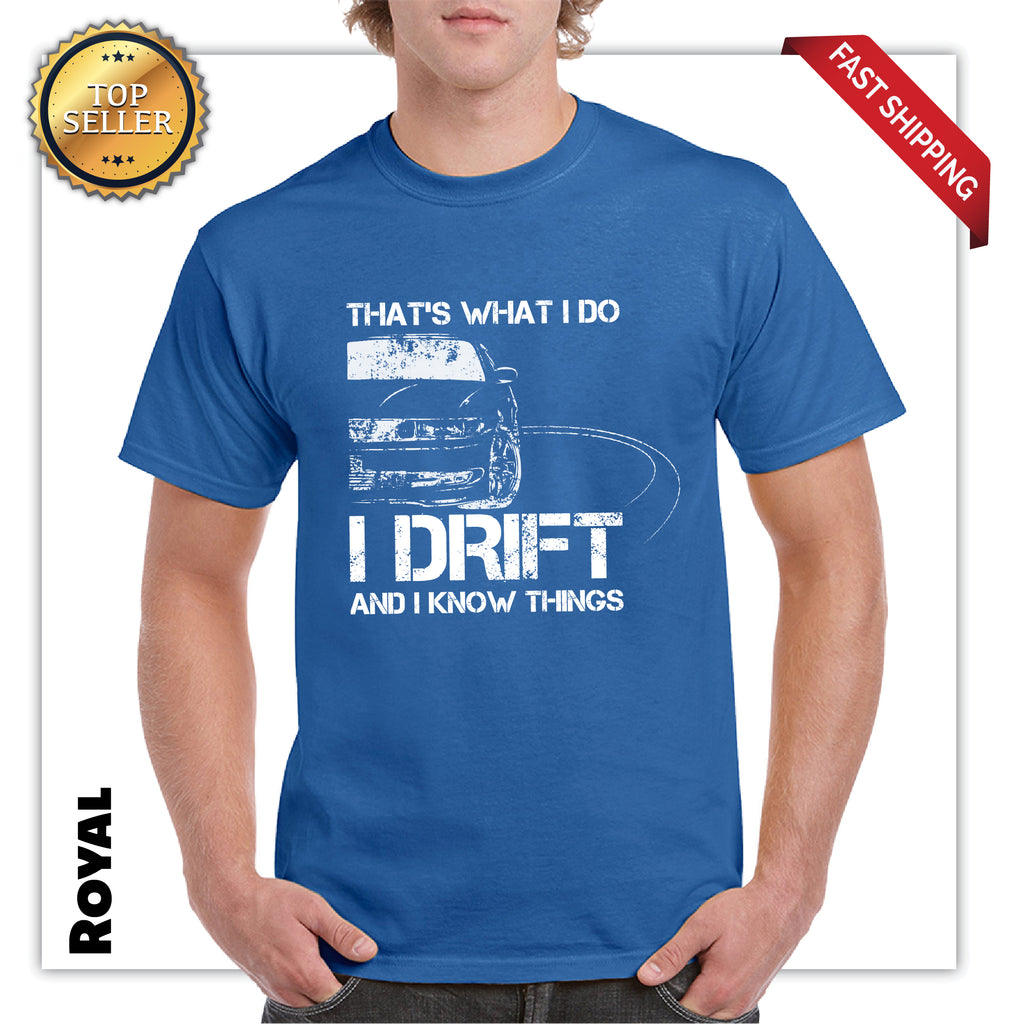 Funny I Drift And I Know Things Mens Graphic T-Shirt