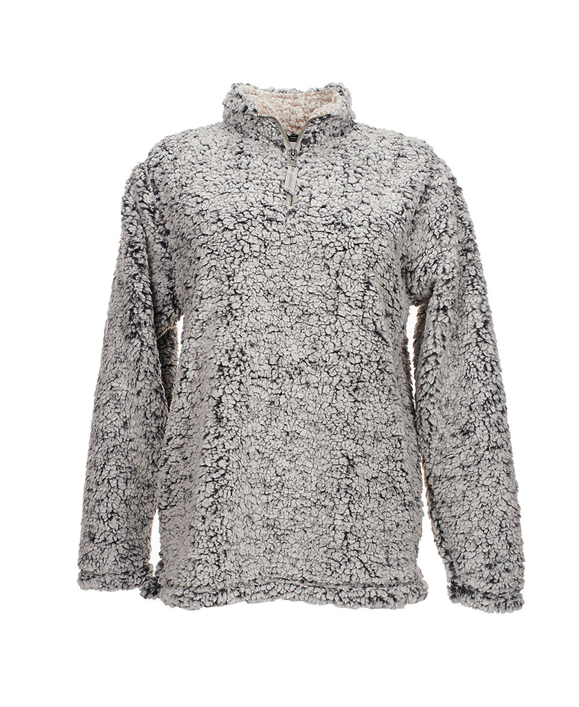 J America Ladies' Epic Sherpa 1/4 Zip JA8451 - guyos apparel.com