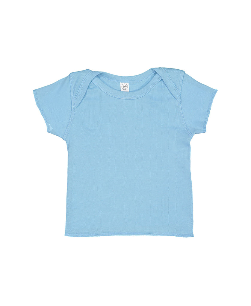 Rabbit Skins Infant Baby Rib Tee LA3400