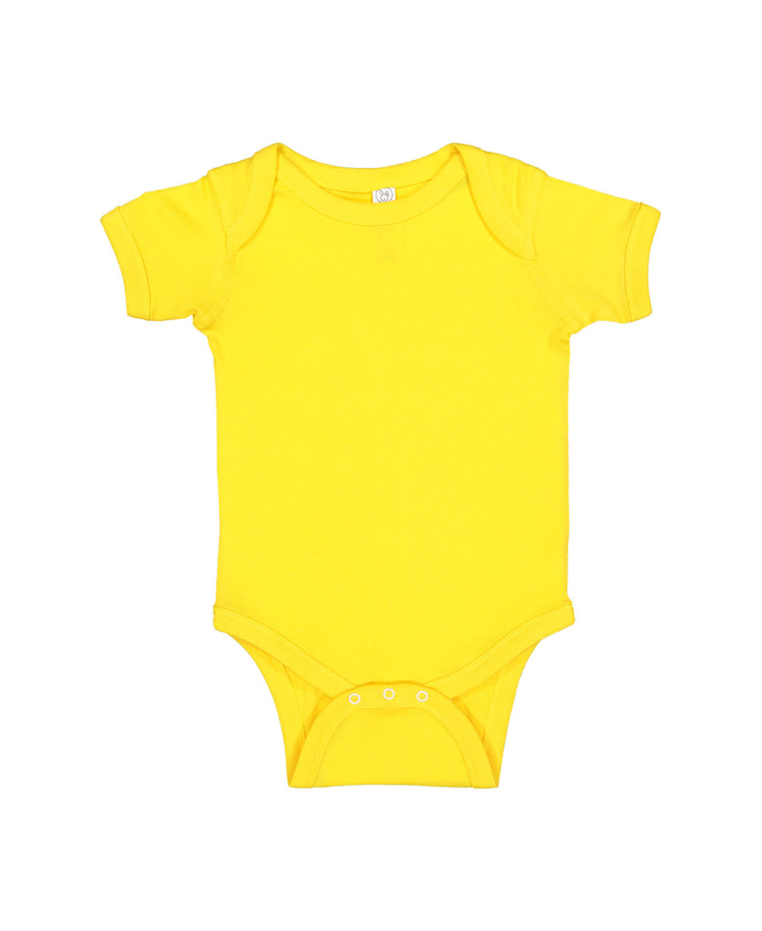 Rabbit Skins Infant Baby Rib Bodysuit LA4400 - guyos apparel.com