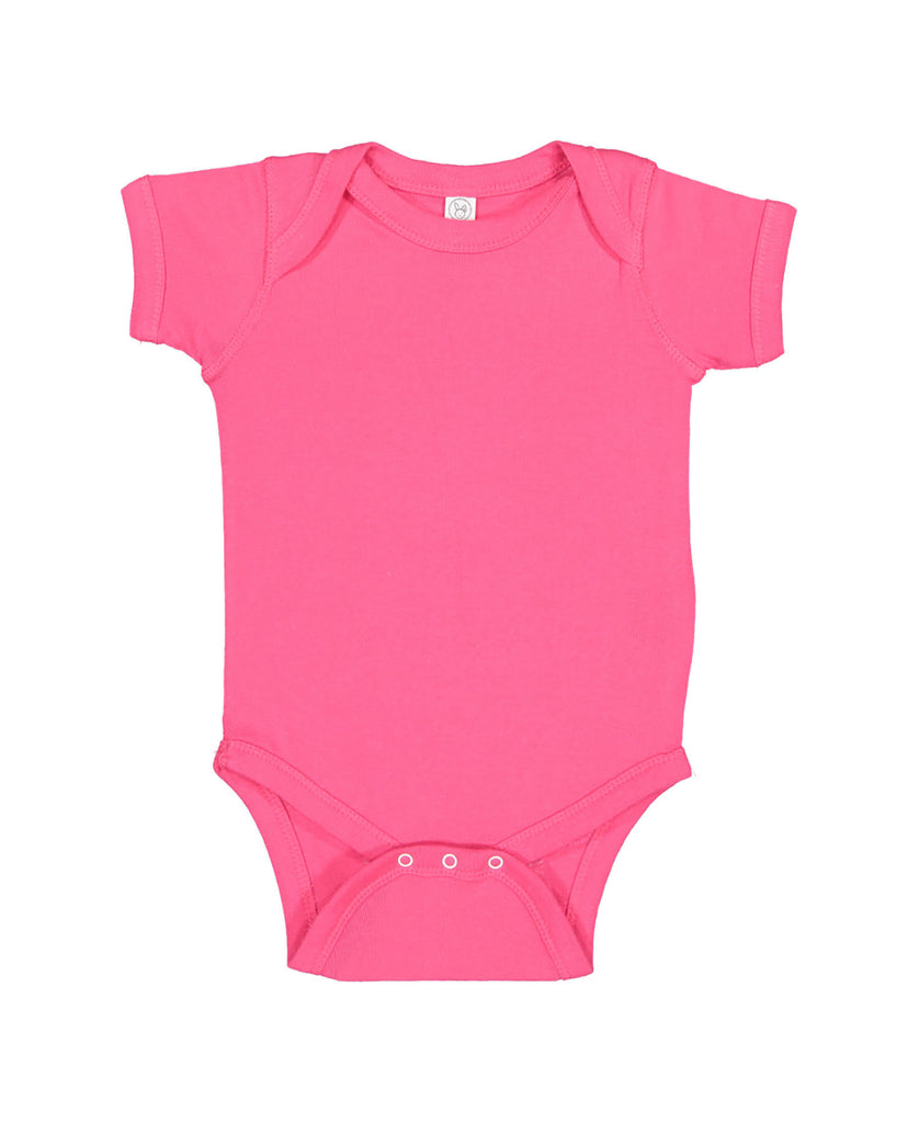 Rabbit Skins Infant Fine Jersey Bodysuit LA4424