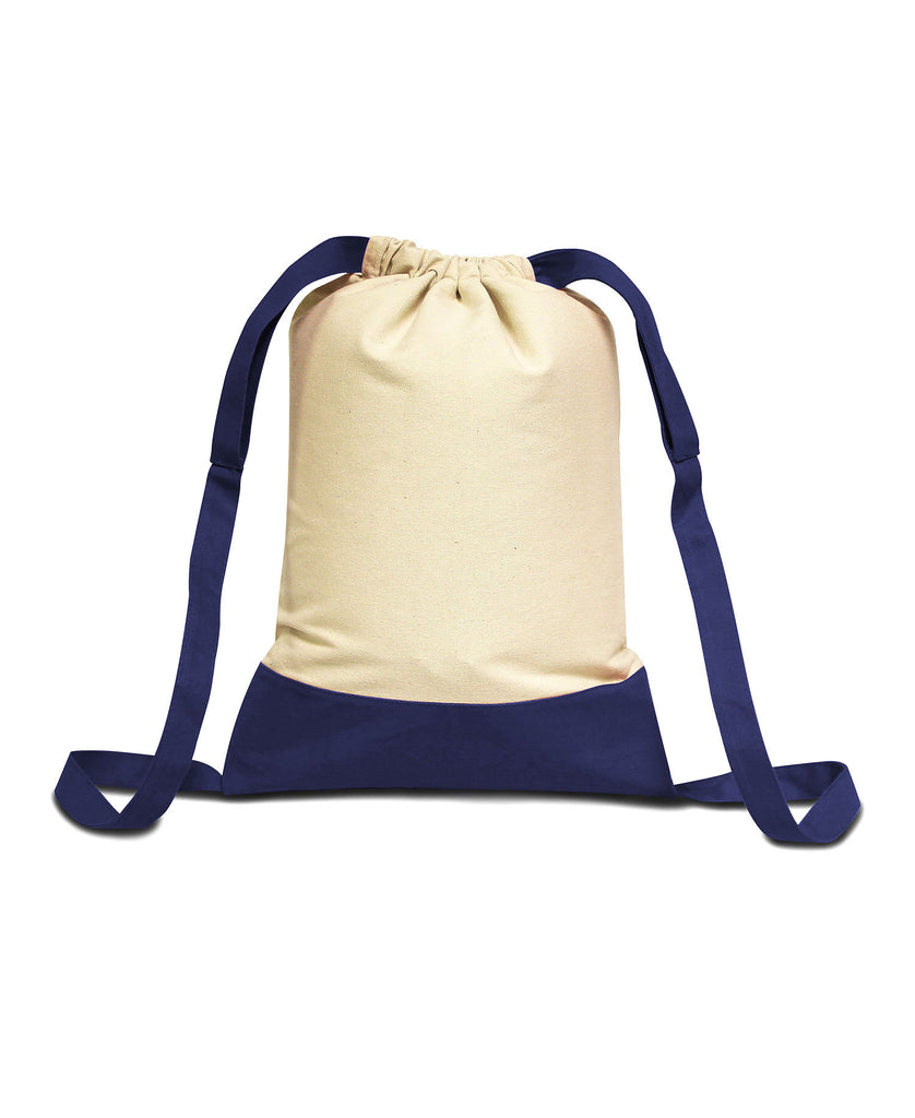 Liberty Bags Cape Cod Drawstring Backpack LB8876 - guyos apparel.com