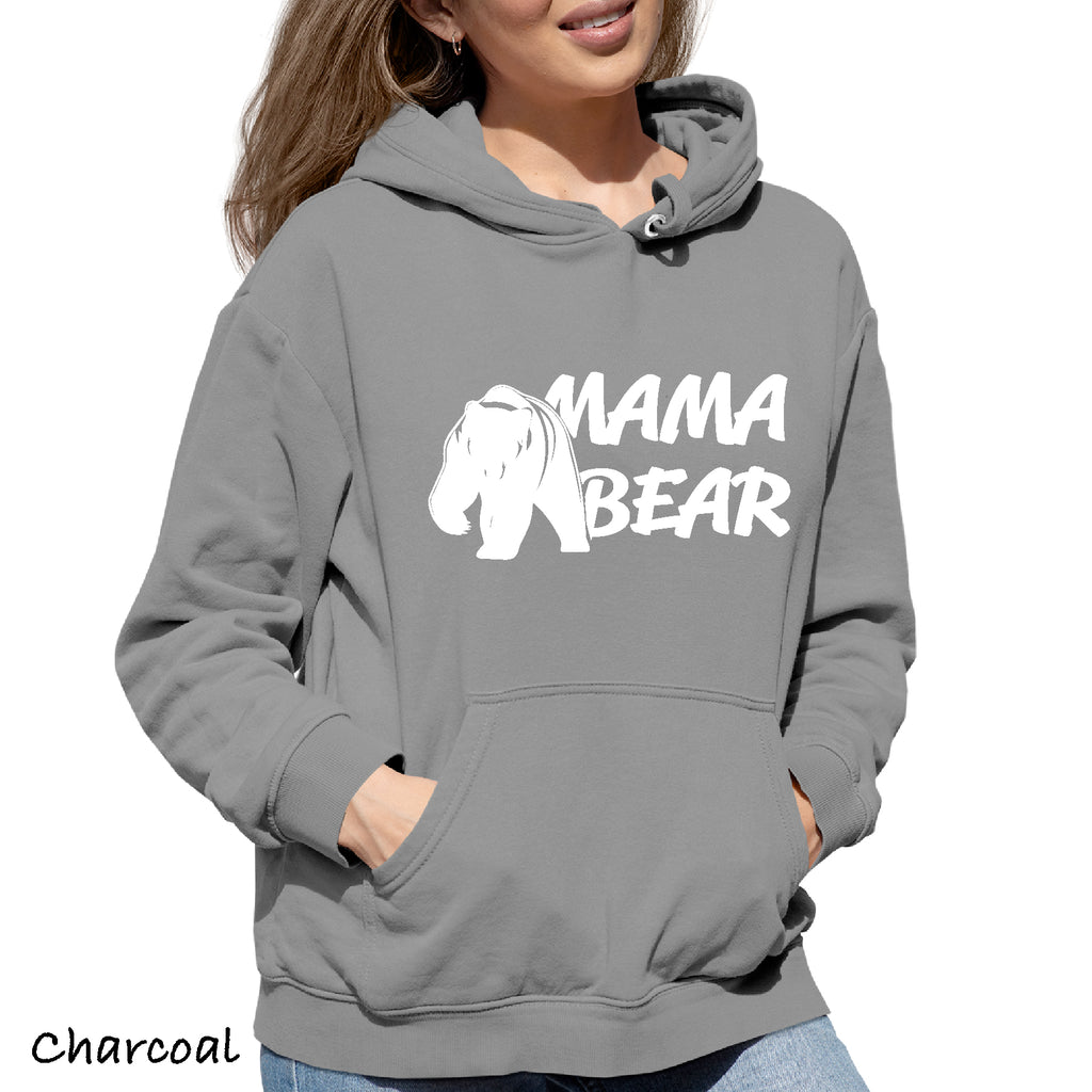 Woman's Hoodie  MAMA BEAR  Great Gift  for mom Hooded Sweatshirt