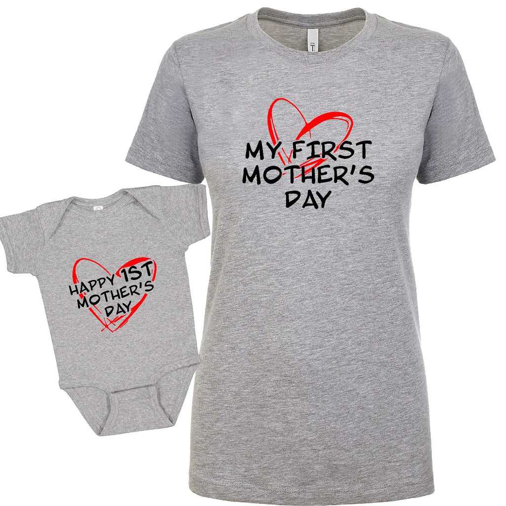 GREAT bundle Happy 1st Mother's Day Mom&child  Funny Gift