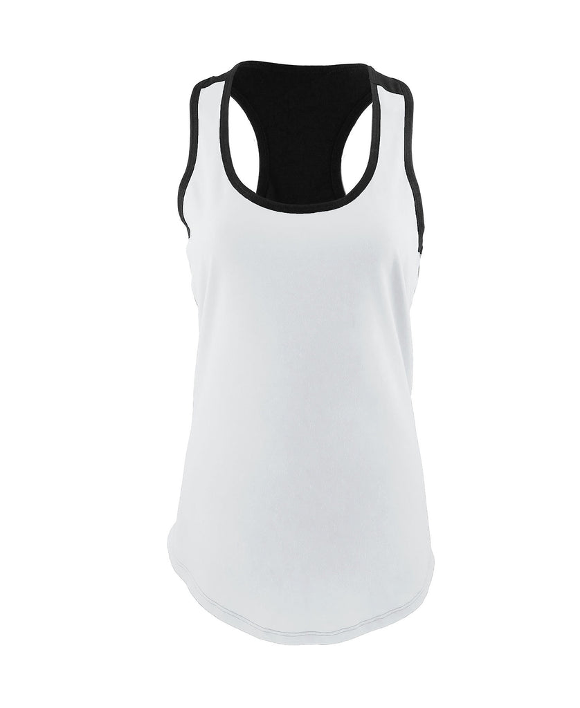 Next Level Women's Ideal Color Block Racerback Tank NL1534 - guyos apparel.com