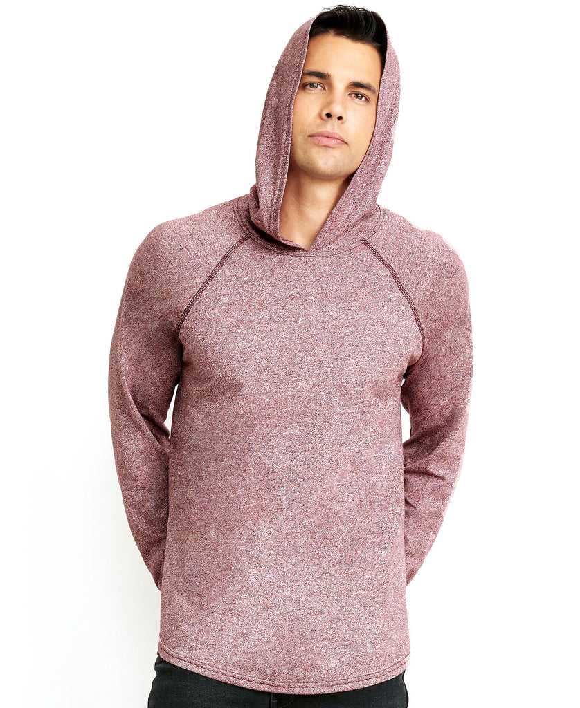 Next Level Unisex Mock Twist Raglan Hoody NL2021 - guyos apparel.com