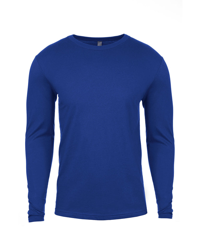 Next Level Men's Cotton Long Sleeve Tee NL3601 - guyos apparel.com
