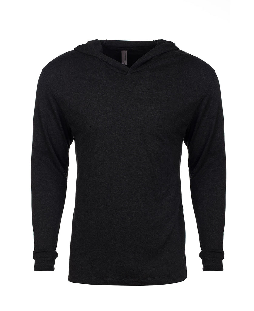 Next Level Unisex Tri-Blend Long Sleeve Hooded Tee NL6021 - guyos apparel.com