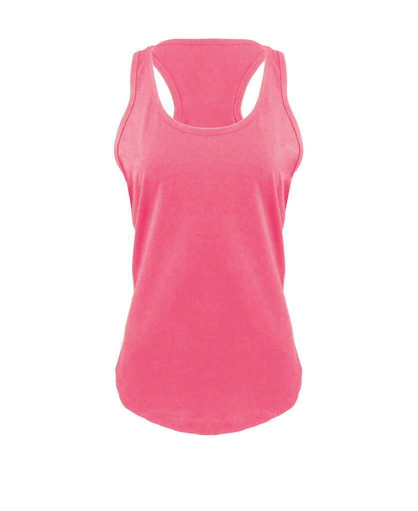 Next Level Women's Gathered Racerback Tank NL6338 - guyos apparel.com