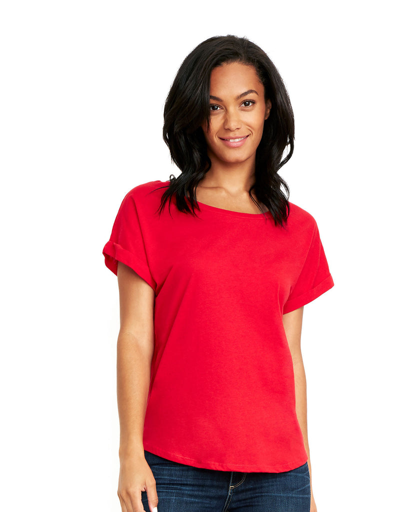Next Level Women's Roll Sleeve Dolman NL6360 - guyos apparel.com