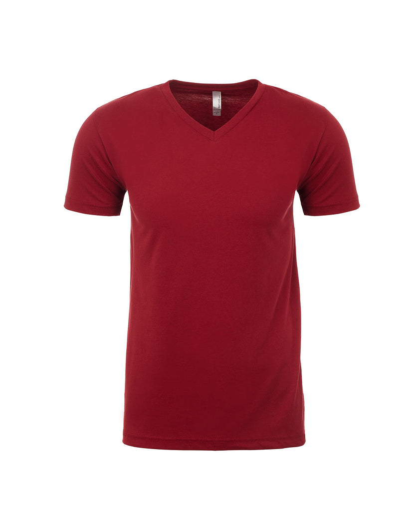 Next Level Men's Sueded V-Neck Tee NL6440 - guyos apparel.com