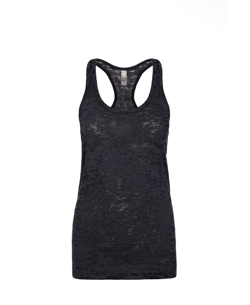Next Level Women's Burnout Racerback Tank NL6533 - guyos apparel.com