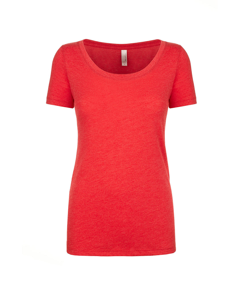 Next Level Women's Tri-Blend Scoop Tee NL6730 - guyos apparel.com