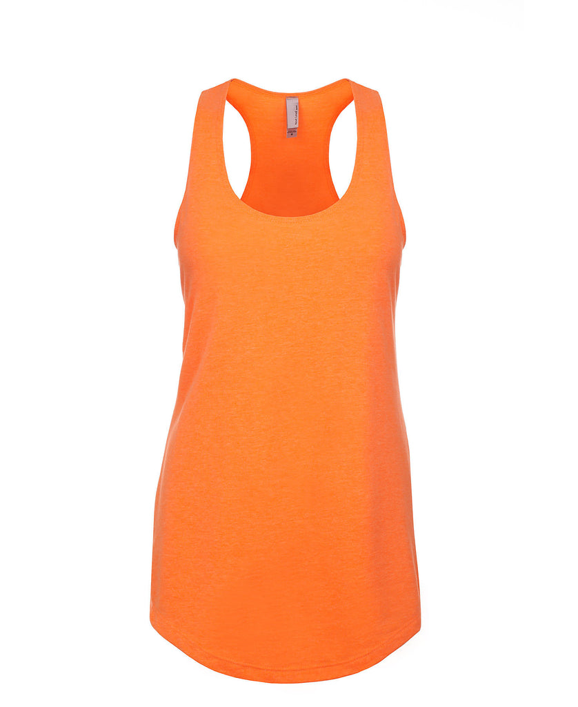Next Level Women's French Terry Racerback Tank NL6933 - guyos apparel.com