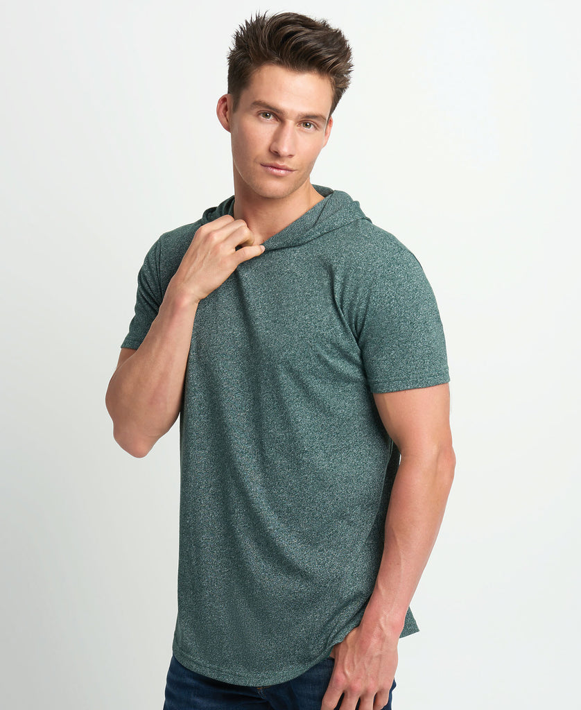 Next Level Unisex Mock Twist Short Sleeve Hoody NL2022