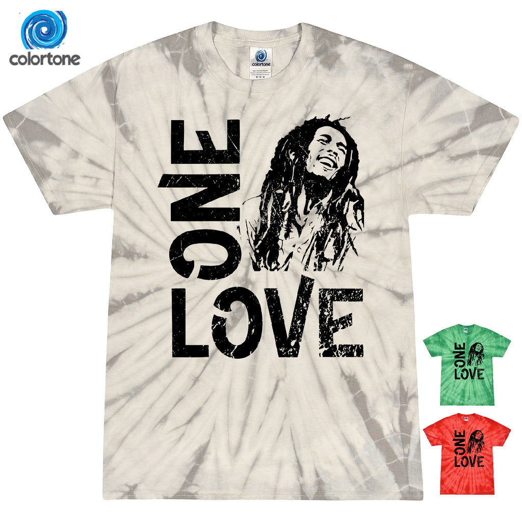 One Love BOB MARLEY RASTAFARI JOINT MARIJUANA RASTA T-SHIRT SHIRT