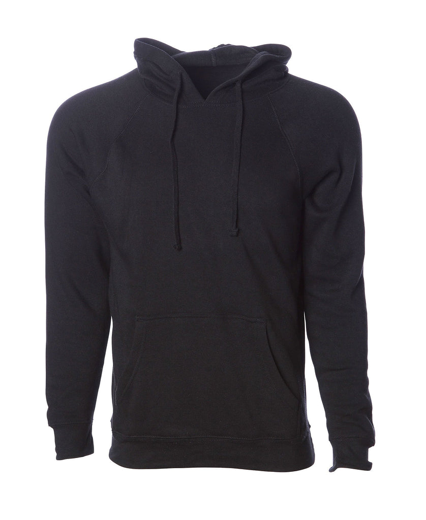 Independent Adult Midweight Special Blend Raglan Hooded Fleece PRM33SBP - guyos apparel.com