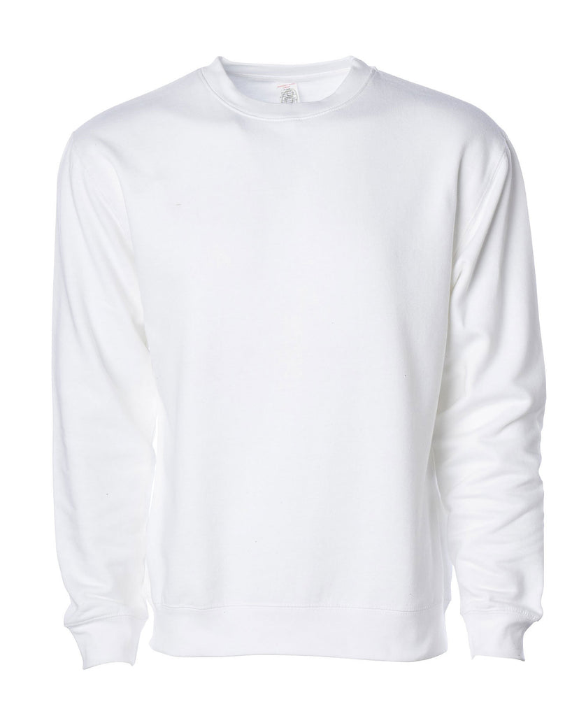 Independent Adult Midweight Crew Neck Fleece SS3000 - guyos apparel.com